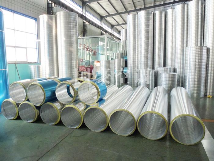 铝板保温螺旋风管