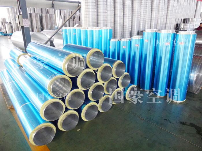 铝管保温螺旋风管